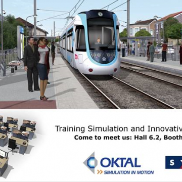 Oktal Sydac at innotrans