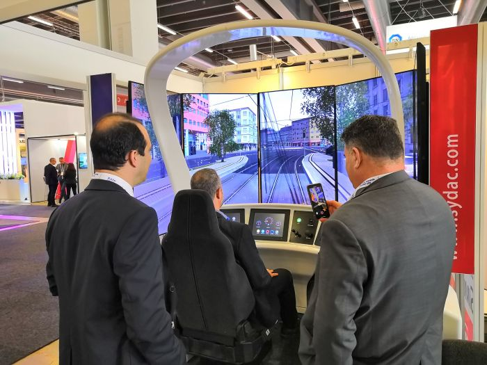 Oktal Sydac at the UITP trade show in Stockholm